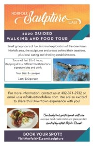 Guided Sculpture Walk and Food Tour @ Downtown Norfolk on the River Point